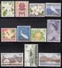 Cook Islands MH Scott #148-#158 Set Of 11 Scenics - Elizabeth II, Flowers, Statue - Cook