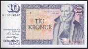 Iceland 10 Kronur 1961 P48 UNC - Iceland