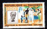 GF648 - DAHOMEY , Posta Aerea   N. 35  ***  MNH  Schweitzer - Bénin – Dahomey (1960-...)