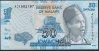 Malawi 50 Kwacha 2012 P58 UNC - Malawi