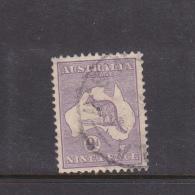 Australia 1929 Multiple Watermark 9d Violet Used - Oblitérés