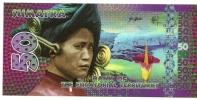 Sumatra - 50 Unità 2015 - Banconota Di Fantasia - Bankbiljetten