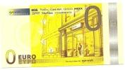 Banconota Di Fantasia - ZERO EURO, - Bankbiljetten