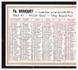 Calendrier BOUQUET (imprimeur, AUCH) 1956 (PPP1271) - Calendriers