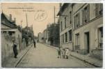 CPA 95 CORMEILLES EN PARISIS RUE DAGUERRE LA POSTE 1922 - Cormeilles En Parisis