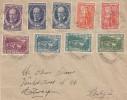 Bulgarie - Lettre De 1922 ° - Oblitération Sofia - Expédié Vers La Belgique - Anvers - Briefe U. Dokumente