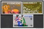 China Chine : (6) 1979 Hong Kong - H.K.Industries SG377/9** - Ohne Zuordnung