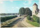 Nevers: CITROËN DS, PEUGEOT 403, BATEAUX - La Tour Goguin, Les Bords De La Loire  - ( Nièvre, France) - Passenger Cars