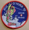 Patch à Coudre, écusson Des Jeux Olympiques D'hiver Albertville 1992 ( Sans Mention Explicite Ni Copyright Du CIO - Habillement, Souvenirs & Autres