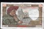 50 FRANCS FRANCS JACQUES COEUR, A. 13-2-1941.A, J40 - 50 F 1940-1942 ''Jacques Coeur''