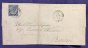 1865 - S.AGATAFELTRIA D.c. UNICO ANNULLATORI DI 20c Fdc (3) Per RIMINI - Altre Collezioni