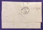 1874 - GENOVA + PUNTI SU 2 PEZZI DEL 20 C. - PEIRANO E VALLE - GE - PER TRIESTE - Altre Collezioni