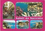 L3412 Saluti Da Sorrento (Napoli) - Panorama - Vedute - Multipla / Viaggiata 2000 - Italia