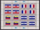 ONU - UNITED NATIONS (NEW YORK) - 1980 - Bandiere 4 Minifogli / FLAGS 4 MINISHEETS MNH - Stamps