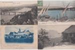 LOT DE 100 CARTES POSTALES ANCIENNES DE LA SUISSE (avec Beaucoup De PHILATELIE) - 100 - 499 Cartoline