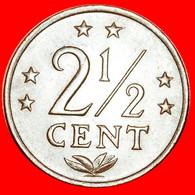 ★6 STARS: NETHERLANDS ANTILLES★ 2 1/2 CENTS 1971! LOW START★NO RESERVE! - Antilles Neérlandaises