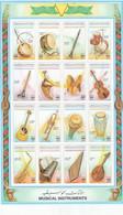 Stamps LIBYA 1995 SC 1529 NATIONAL MUSICAL MNH SHEET SET CV=$21.00 */* - Libya
