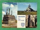 Charmante Chapelle Notre-Dame De Tronoen édifice Du XVe S. Calvaire émouvant De 1450 - Dunes De La Région De Penmarch - Saint-Jean-Trolimon