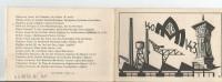AIX EN PROVENCE (13) CARNET DE GADZ'ARTS (ECOLE NATIONALE D'ARTS ET METIERS) PROMOTION 140-143 AVEC LES NOMS - Vieux Papiers