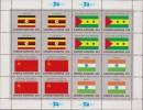 ONU - UNITED NATIONS (NEW YORK) - 1985 - Bandiere 4 Minifogli / FLAGS 4 MINISHEETS MNH - Stamps