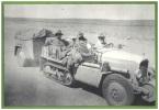 Carte Postale CP 7 Série Film LA CROISIERE JAUNE Expédition CITROEN Beyrouth à Pekin Cinéma Camion Automobile à Chenille - Camions & Poids Lourds