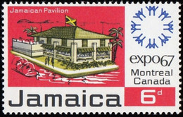 "! JAMAICA - Scott #259 International Exhibition ""EXPO 67"", Montréal, Canada / Mint NH Stamp - 1967 – Montreal (Kanada)"