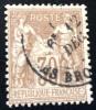 N° 69  DE FRANCE OBLITERE LE TIMBRES VENDU ET CELUI DU SCAN - 1876-1878 Sage (Type I)