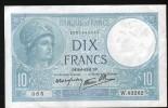 10 FRANCS MINERVE , 9=1=1941 - 1871-1952 Antichi Franchi Circolanti Nel XX Secolo
