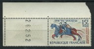 Variété Du N° 1172 (ligne Du Sol Effacée) Avec Coin Daté. Neuf Sans Charnière. - Nuevos