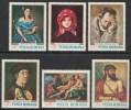 Romania 1968 Paintings Art Painting Tattarescu Luchian Titian Popp Ricci Stamps MNH Michel 2666-2671 - 1948-.... Republics
