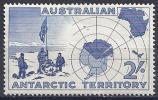 ANTÁRTIDA AUSTRALIANA 1957 - Yvert #1 - MNH ** - Nuevos