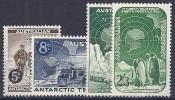ANTÁRTIDA AUSTRALIANA 1959 - Yvert #2/5 - MNH ** - Unused Stamps