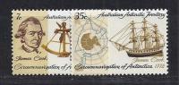 ANTÁRTIDA AUSTRALIANA 1972 - Yvert #21/22 - MNH ** - Unused Stamps