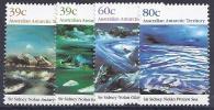 ANTÁRTIDA AUSTRALIANA 1989 - Yvert #84/7 - MNH ** - Nuevos