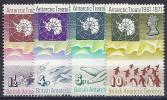 ANTÁRTIDA BRITANICA 1971 - Yvert #39/42 - MNH ** - Territorio Antártico Británico  (BAT)
