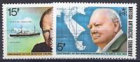 ANTÁRTIDA BRITANICA 1974 - Yvert #62/3 - MNH ** - Territorio Antártico Británico  (BAT)