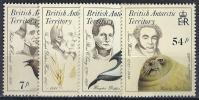 ANTARTIDA BRITANICA 1985 - Yvert #148/51 - MNH ** - Territorio Antártico Británico  (BAT)