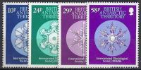 ANTÁRTIDA BRITANICA 1986 - Yvert #156/59 - MNH ** - Territorio Antártico Británico  (BAT)