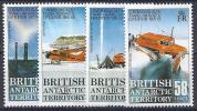 ANTÁRTIDA BRITANICA 1988 - Yvert #168/71 - MNH ** - Territorio Antártico Británico  (BAT)