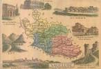 Chromo - Département Du Vaucluse ( 84 ) - Avignon Orange Apt Carpentras Malaucène Gordes Bonnieux Cavaillon Valréas - Chocolat