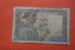 1942 BILLET DE BANQUE BANK-BILL FRANCE BILLET DE 10 FRANCS MINEUR - 1871-1952 Circulated During XXth