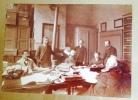 Rare Tournai Archives Photo 17cm X12cm Encadrée 1891 Témoignage Gratitude Alphonse De Rasse Bourgmestre - Unclassified