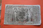 1910 TROISIEME REICH ZMANZIG BERLIN 1000 REICHSMARK  REICHSBANKNOT BILLET DE BANQUE BANK-BILL - [ 4] 1933-1945 : Third Reich