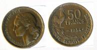 France - 50 Francs 1954  Guiraud  Sans B  KM#918.1 - France
