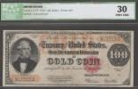 USA 100 Dollars 1922 - Certificati D'Oro (1882-1922)