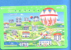 Japan Japon Telefonkarte Télécarte Phonecard Telefoonkaart Ballon Balloon NTT Nr. 331 - 275 - Sport