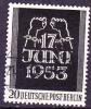 Berlin - 17. Juni 1953 - Gest. Used Obl. - Usati
