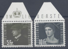 LIECHTENSTEIN - 1948 -  POSTE AERIENNE N° 32 Et 33 - XX - MNH - TB - - Poste Aérienne