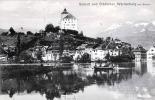 Schloß Und Städtchen WERDENBERG Bei Buchs, Gel.1912 Mit Marke - SG St. Gallen