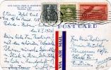 CUBA - Vista Parcial Desde El Aeropuerto, San Jose Del Lago, Mayajigua, Gel.1954, 3 Fach Frankiert, Transportsuren - Kuba